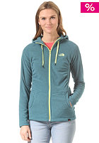 THE NORTH FACE Womens Mezzaluna Full Zip prussian blue stripe