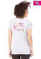 THE NORTH FACE Womens Mountain Lodge S/S T-Shirt heather grey