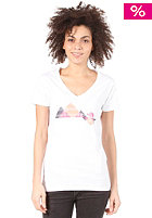 THE NORTH FACE Womens Mountain Lodge S/S T-Shirt tnf white