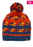 THE NORTH FACE Womens Nanny Knit Beanie estate blue/spicy orange