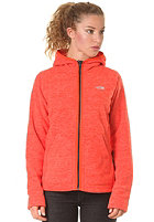 THE NORTH FACE Womens Nikster Hooded Full Zip Jacket spicy orange