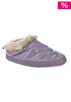 THE NORTH FACE Womens Nse Tent Mule Faux Fur II shiny purple sage/greystone blue