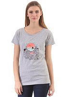 THE NORTH FACE Womens Save Me S/S T-Shirt heather grey