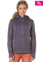 THE NORTH FACE Womens Snorkle Hooded Jacket greystone blue