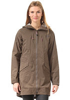 THE NORTH FACE Womens Solvita Parka weimaraner brown
