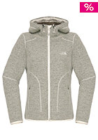 THE NORTH FACE Womens Zermatt Hooded Knit Cardigan moonlight ivory heather