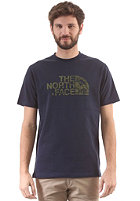 THE NORTH FACE Woodcut Dome S/S T-Shirt cosmic blue