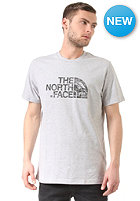 THE NORTH FACE Woodcut Dome S/S T-Shirt heather grey