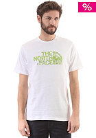 THE NORTH FACE Woodcut Dome S/S T-Shirt tnf white