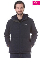 THE NORTH FACE Zermat Knit Full Zip Hooded Jacket cosmic blue heather