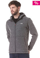 THE NORTH FACE Zermat Knit Full Zip Hooded Jacket heather grey