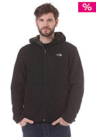 THE NORTH FACE Zermat Knit Full Zip Hooded Jacket tnf black