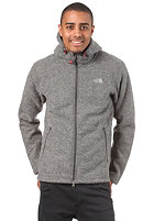 THE NORTH FACE Zermatt Hooded Zip Jacket heather grey