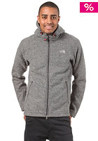 THE NORTH FACE Zermatt Hooded Zip Sweat heather grey
