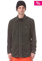 THIRTYTWO Aliente Button Down Flannel L/S Shirt black