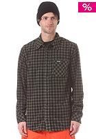 THIRTYTWO Aliente Button Down Flannel L/S Shirt black
