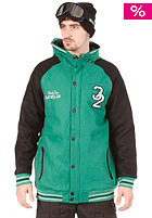 THIRTYTWO Bean Town Hooded Zip Soft Shell Jacket green