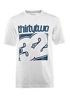 THIRTYTWO Combo S/S T-Shirt white/blue