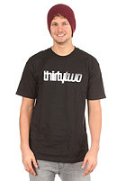 THIRTYTWO Double S/S T-Shirt black Black