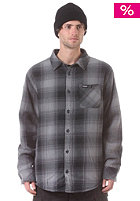 Grizzley Button Down Flannel L/S Shirt black