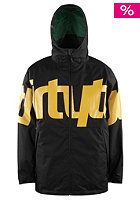 THIRTYTWO Lowdown Snow Jacket black/yellow