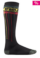 THIRTYTWO Over Spray Socks black