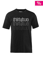THIRTYTWO Repeatedly S/S T-Shirt black