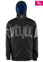 THIRTYTWO Reppin 32 Tech Hooded Zip Sweat black/grey