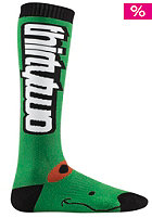 THIRTYTWO Ribbit Socks green