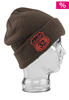 THIRTYTWO Self Serve Sexton Beanie brown