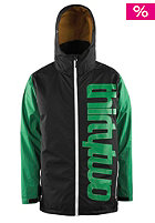 THIRTYTWO Shiloh II Snow Jacket black/green