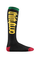 THIRTYTWO Slugger Socks black/yellow