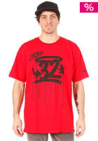 THIRTYTWO The Drips S/S T-Shirt red