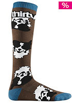 THIRTYTWO The Shepard Socks brown