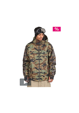 THIRTYTWO THIRTYTWO Shiloh 2.0 Shell Jacket 2012 camo (S) Camo