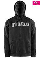 THIRTYTWO Triple Double Hooded Zip Fleece black