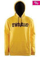 THIRTYTWO Triple Double P/O Hooded Fleece gold