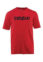 THIRTYTWO Triple Double S/S T-Shirt red
