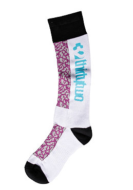 THIRTYTWO Womens Broadside Socks white