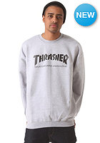 THRASHER Crewneck Sweat greymottled