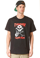 THRASHER Sk8 Rock S/S T-Shirt black