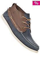 TIMBERLAND EK Heritage Boat chukka dark brown with blue