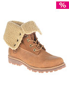 TIMBERLAND Kids Authentics Waterproof Shearling 6 inch rust nubuck
