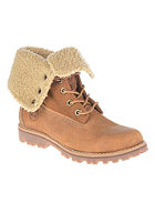 TIMBERLAND Kids Authentics Waterproof Shearling Boot 6 inch rust nubuck
