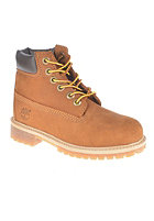 TIMBERLAND Kids Classic Premium Waterproof 6 inch rust nubuck with honey