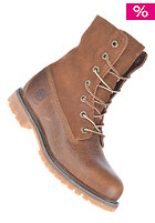 TIMBERLAND Womens Authentics Teddy Fleece Waterproof Fold Down Boot tobacco forty