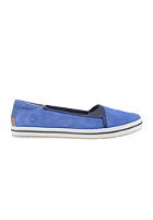 TIMBERLAND Womens Earthkeepers Casco Bay Lth dutch blue suede with rubber rand