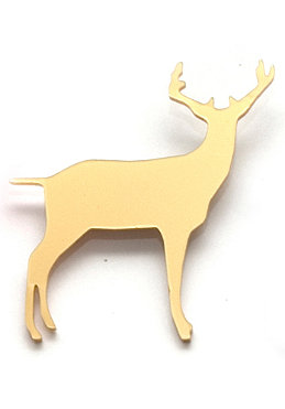 TITIMADAM Duffy The Deer Brooch gold