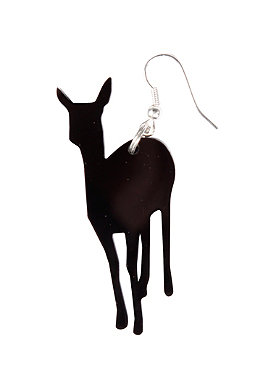 TITIMADAM Juan The Bambi Earring black