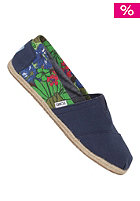 TOMS Seasonal Classic Tropical blue